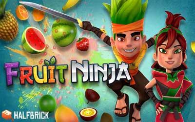 Скачать сломанный Fruit Ninja 0.3.9  со бесконечными деньгами